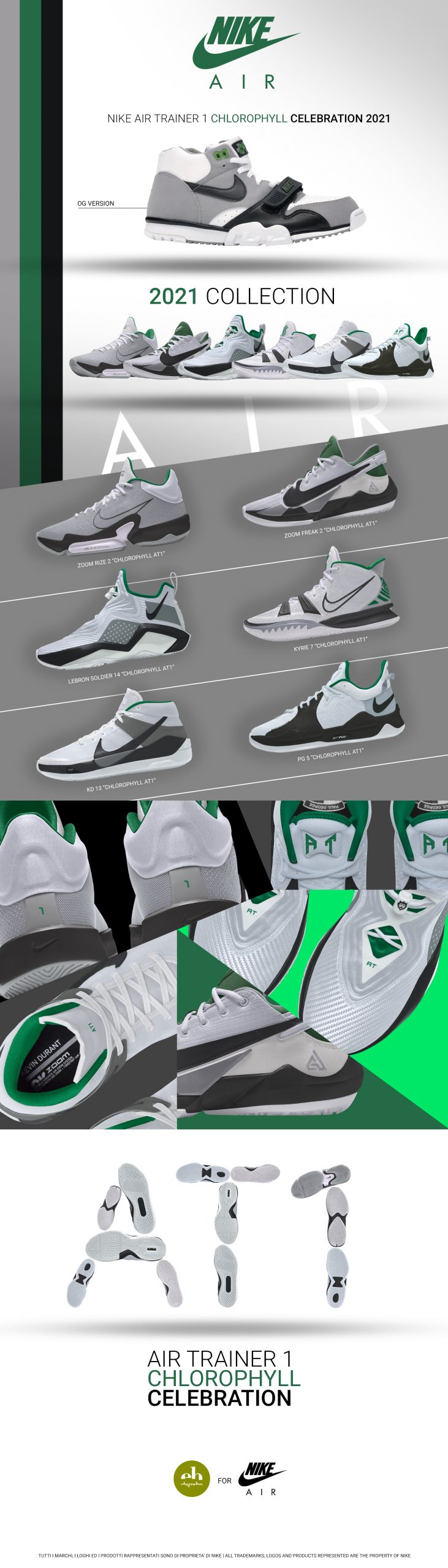 Air Trainer 1 Chlorophyll Collection Nike